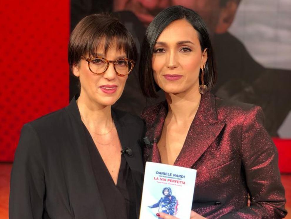 """Daniele Nardi, la moglie a """"Vieni da me� ospite di Caterina Balivo: «Quando partì si emozionò per la prima volta, per suo figlio»."""