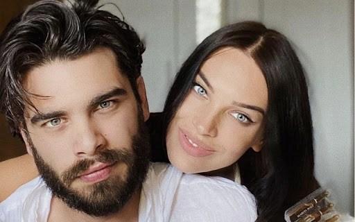 Stefano Sala e Dasha Dereviankina genitori, è nato il primo figlio Damin