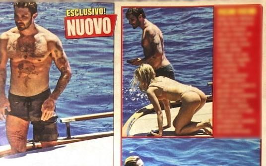 Stefano De Martino, gita in alto mare con una bionda misteriosa