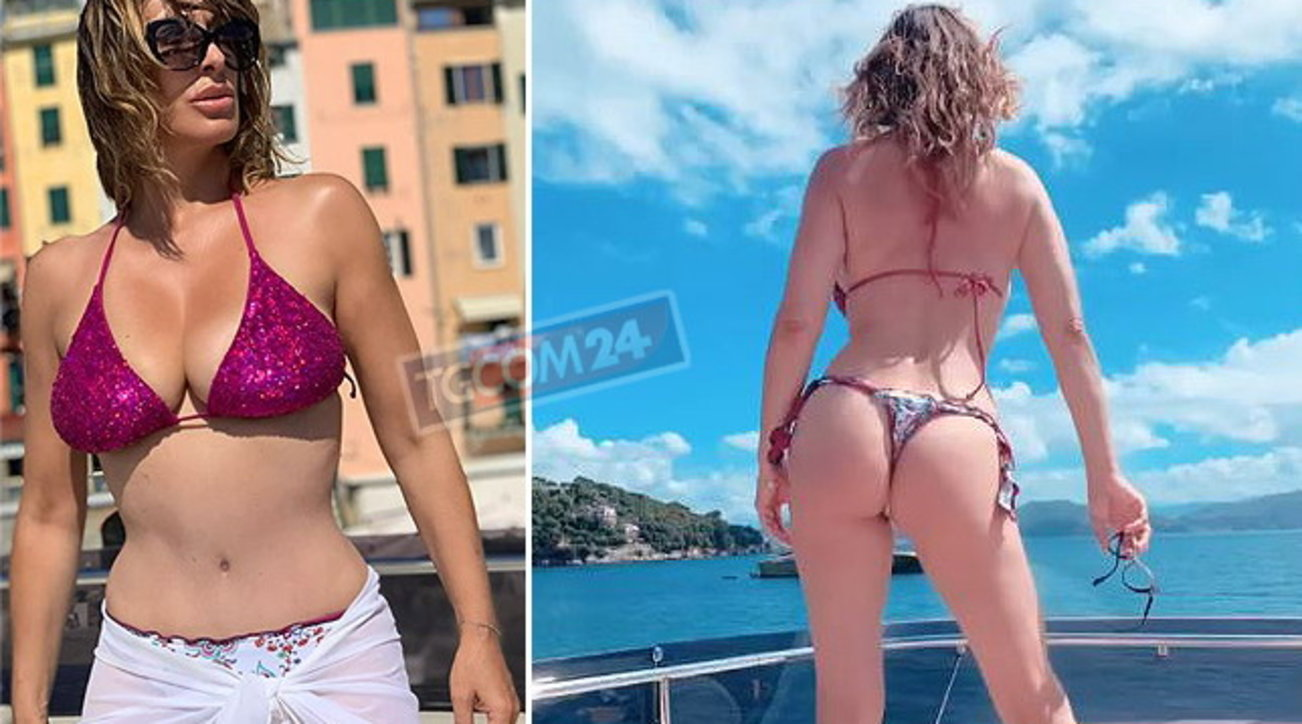 Sabrina Salerno surriscalda la Rete con le sue forme conturbanti