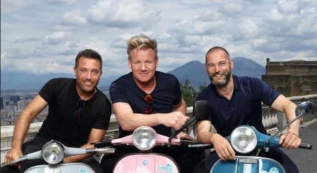 Gino D'Acampo, Gordon Ramsay e Fred Sirieix insieme per un nuovo programma tra Italia, Scozia e Francia