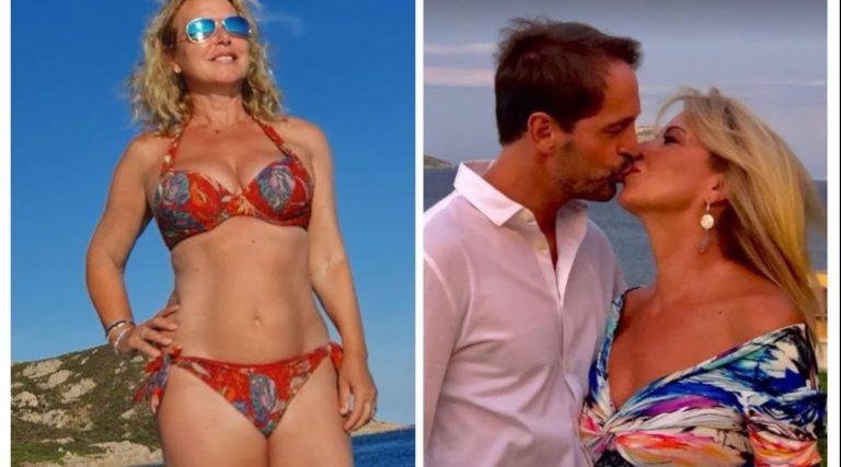 Monica Leofreddi in bikini in barca, che vacanze al bacio