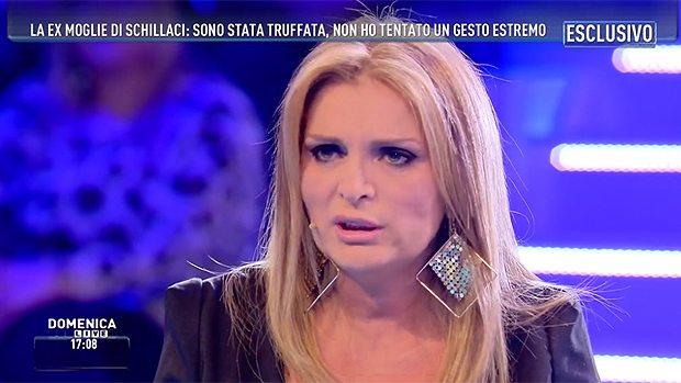 Rita Bonaccorso, l'ex moglie di Schillaci a Domenica Live: «I grandi possono rubare... vivo in strada»