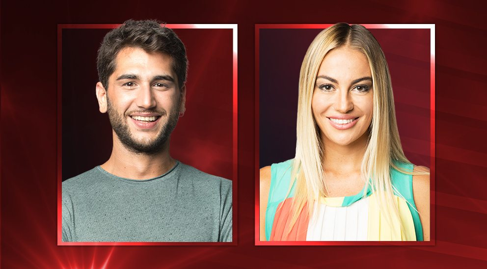 Grande Fratello Vip, Jeremias e Veronica in nomination