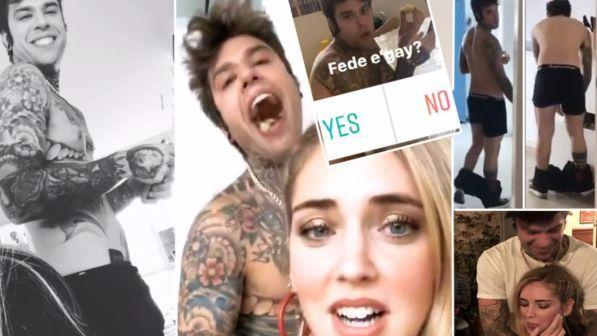Chiara Ferragni lancia il sondaggio: Fedez è gay?