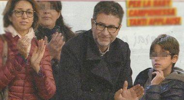 """Fabio Fazio dopo le critiche in tv, """"fuga"""" in famiglia per le gare della figlia"""