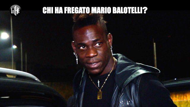 Scherzo a Mario Balotelli, il trafficante di diamanti fugge con la sua auto nuova