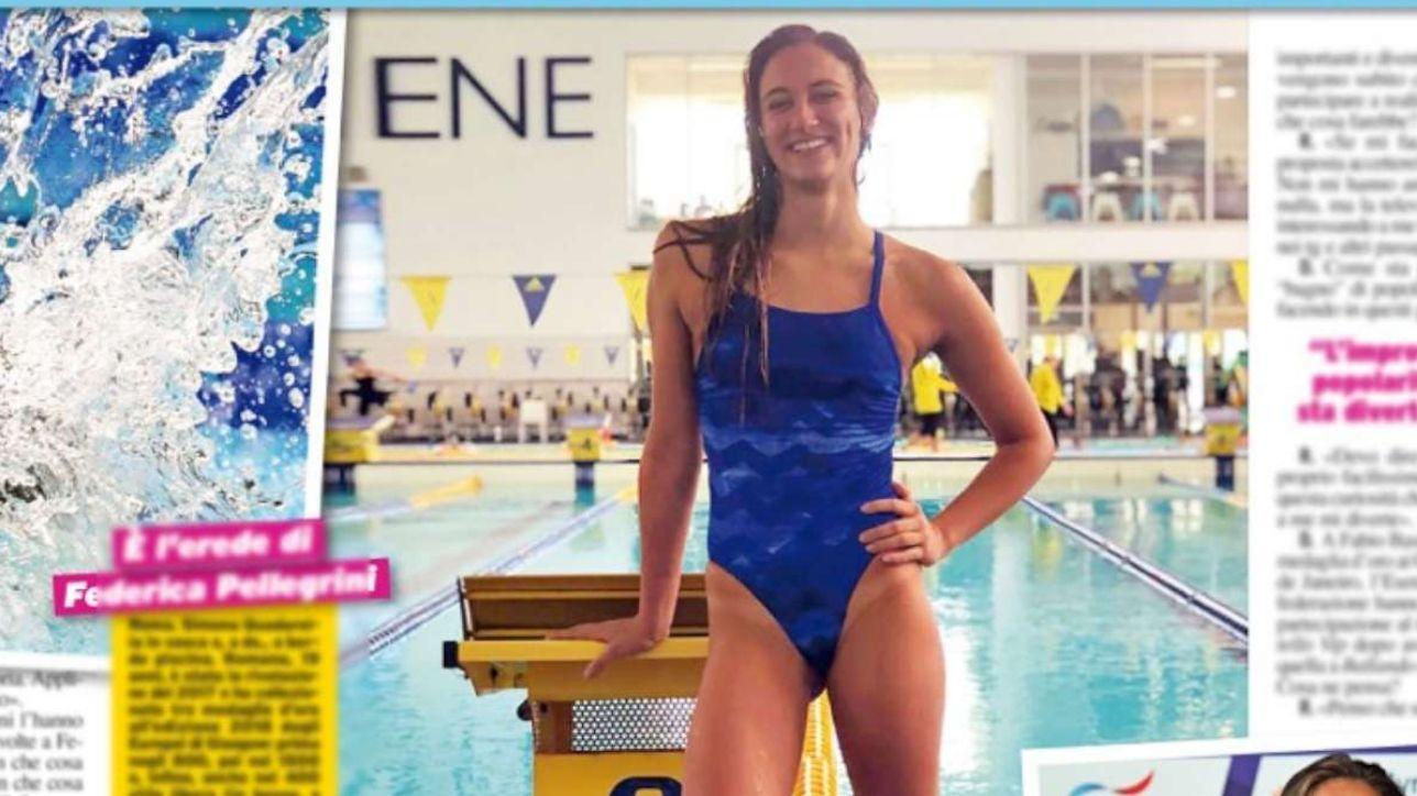 Simona Quadarella, la nuova regina del nuoto sogna la tv: