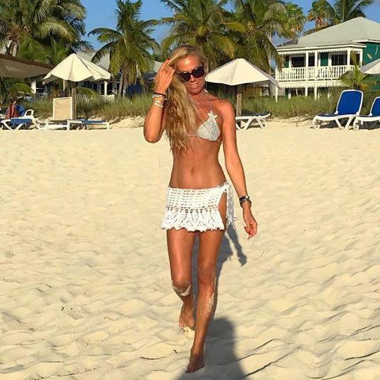 Federica Panicucci, un'estate in vacanza: eccola alle Bahamas