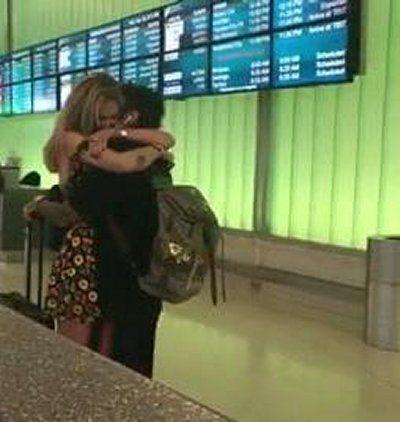 Chiara Ferragni carrambata in aereoporto per Fedez