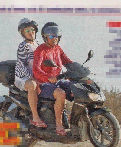 Eva Grimaldi e Imma Battaglia relax a Formentera