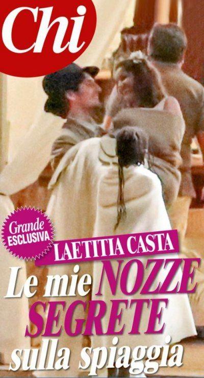 Laetitia Casta sposa in gran segreto Louis Garrell