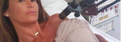 Paura per Samantha De Grenet ricovero in ospedale