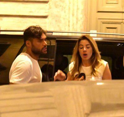Aida Yespica fuga d'amore a Roma