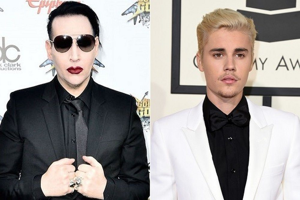 Marilyn Manson contro Justin Bieber