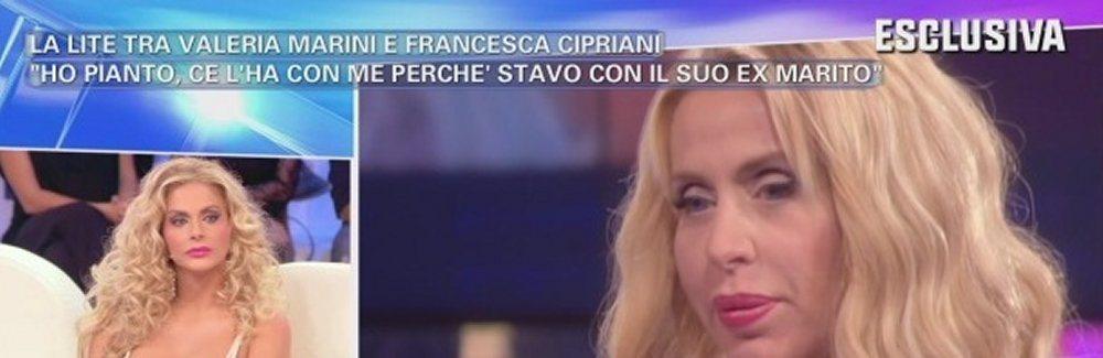 Francesca Cipriani Valeria Marini mi ha fatto piangere