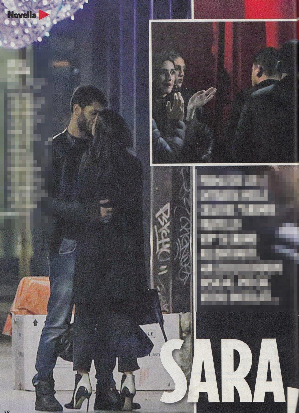 Jeremias Rodriguez baci in pubblico con la sua Sara