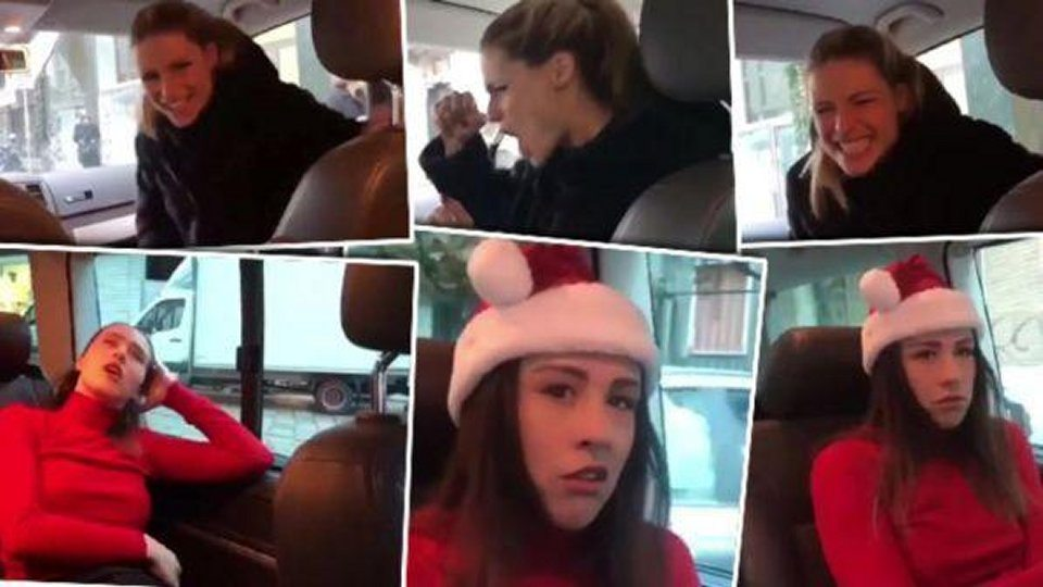 Siparietto natalizio tra Michelle Hunziker e Aurora Ramazzotti