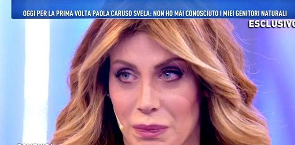 Paola Caruso sono stata adotatta l'ho scoperto a 13 anni
