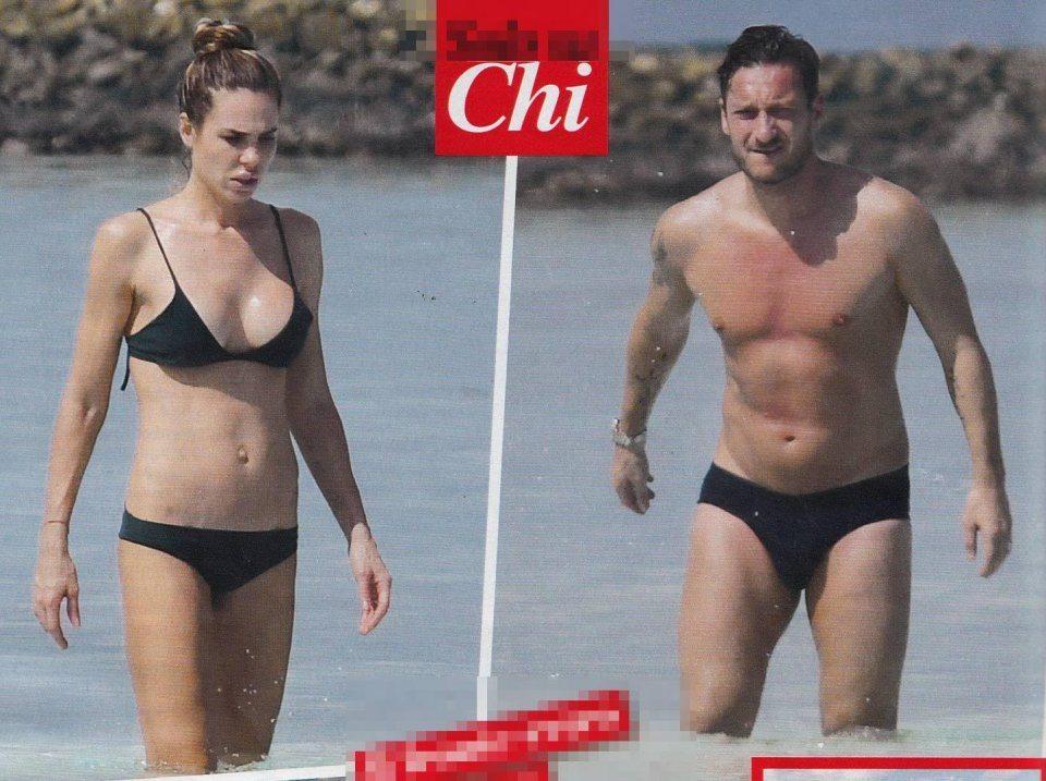 Francesco Totti e Ilary Blasi relax alle Maldive