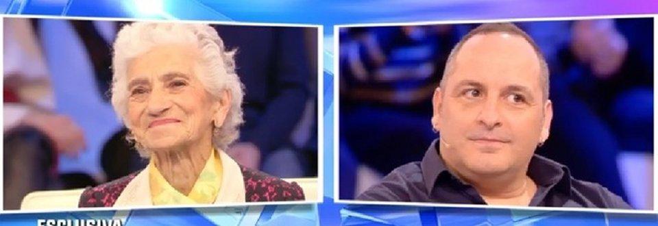 Barbara D'Urso fa incontrare la nonna di Simone con il fidanzato della Morali