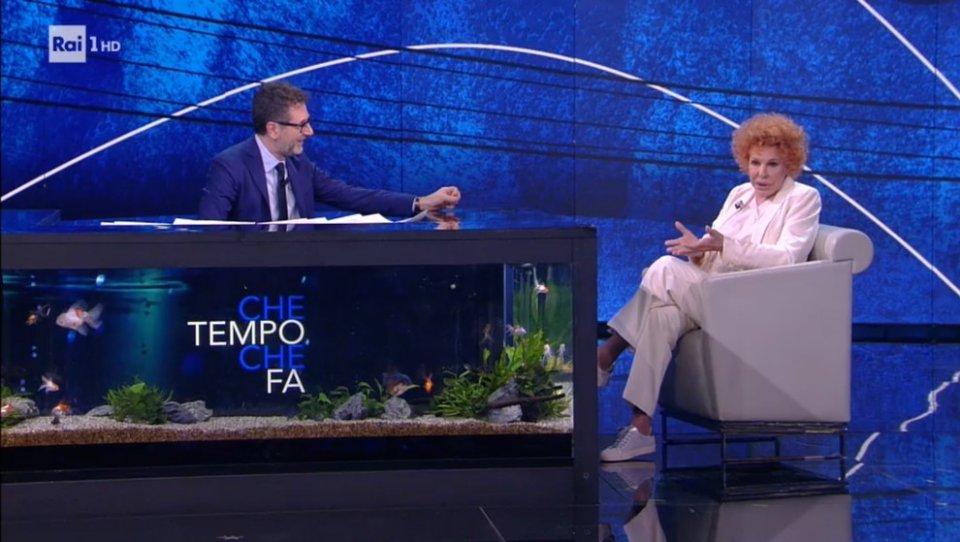 Ornella Vanoni da Fazio racconta avevo paura di salire sul palco