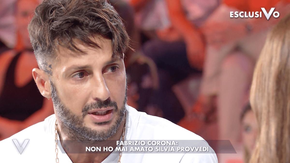 Fabrizio Corona spiazza tutti non ho mai amato Silvia Provvedi