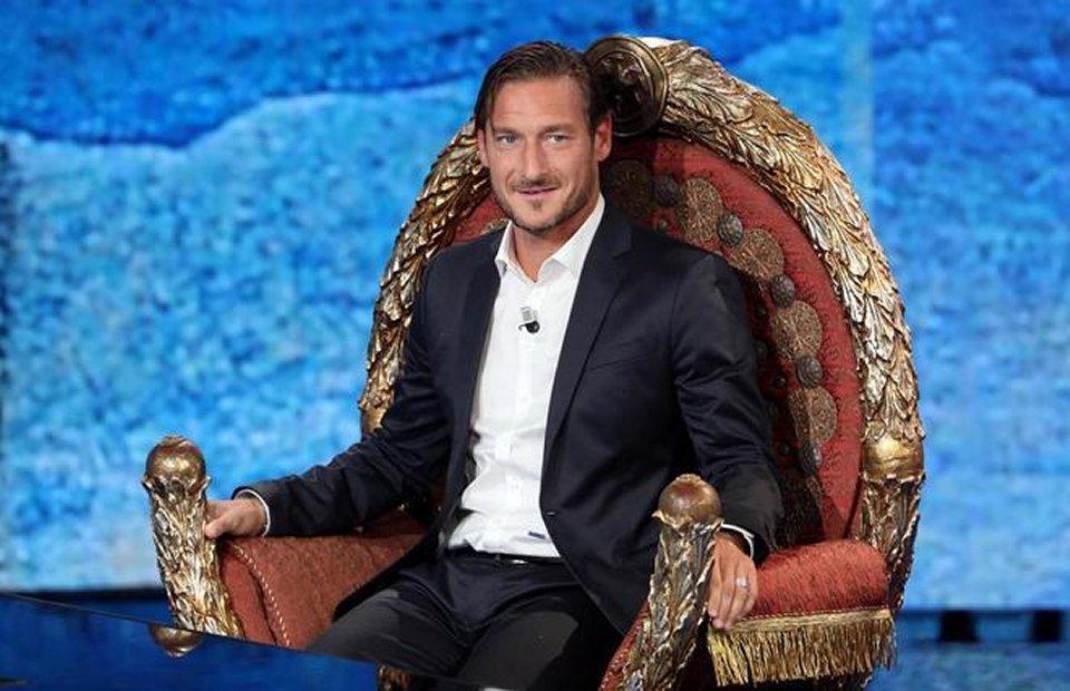 Francesco Totti a Che tempo che fa tra ricordi e risate