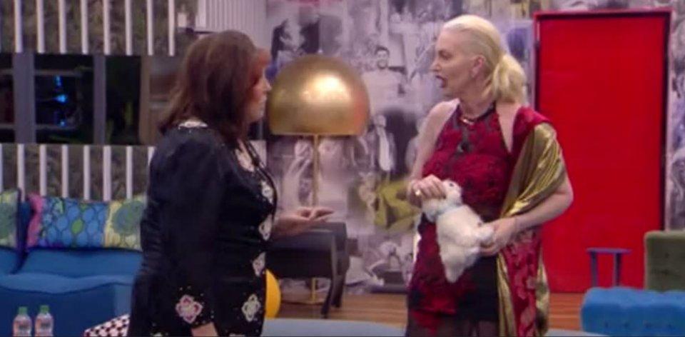 Patrizia De Blanck lite al Gf Vip con la Marchesa D'Aragona