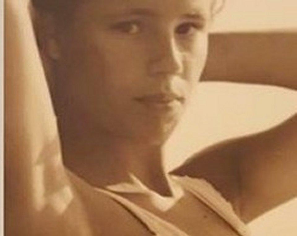 Michelle Hunziker la sua prima foto di modella a 15 anni