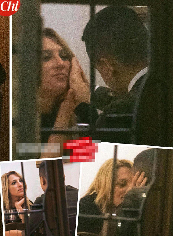 Luigi Di Maio e Virginia Saba coccole e baci in pubblico