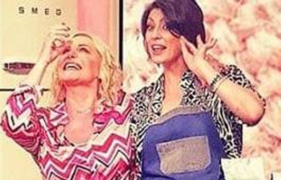 Antonella Clerici sorprende Elisa Isoardi in diretta tv