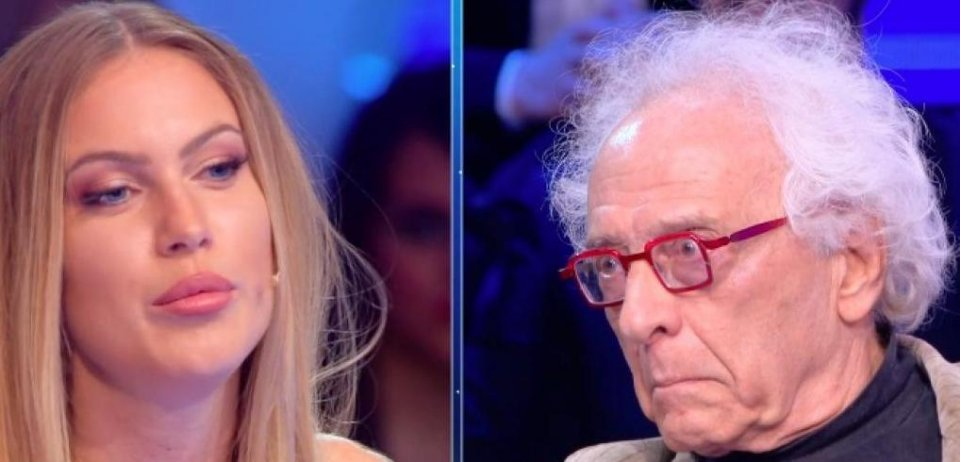 Taylor Mega risponde alle critiche di Giampiero Mughini in diretta tv