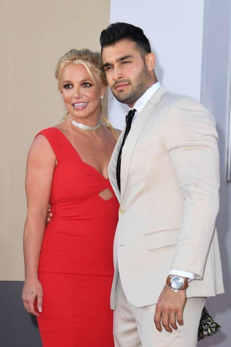Prima uscita pubblica per Britney Spears e il fidanzato Sam Asghari
