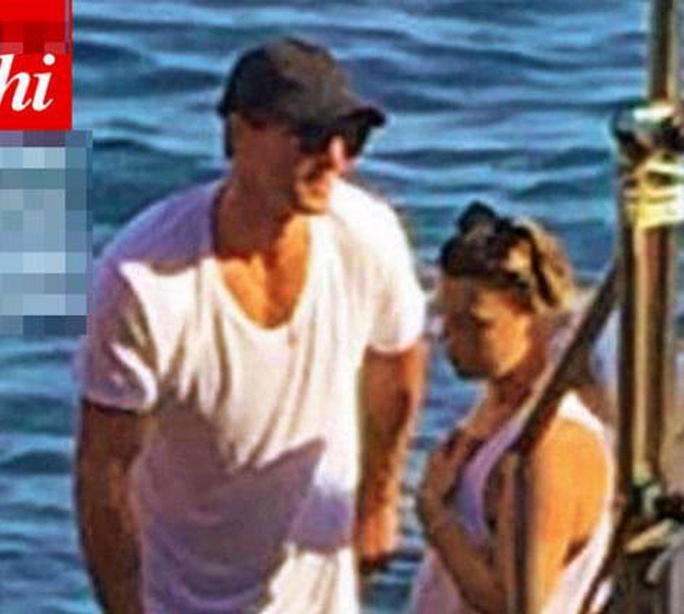 Nikolai Danielsen in vacanza in barca con Emma Marrone