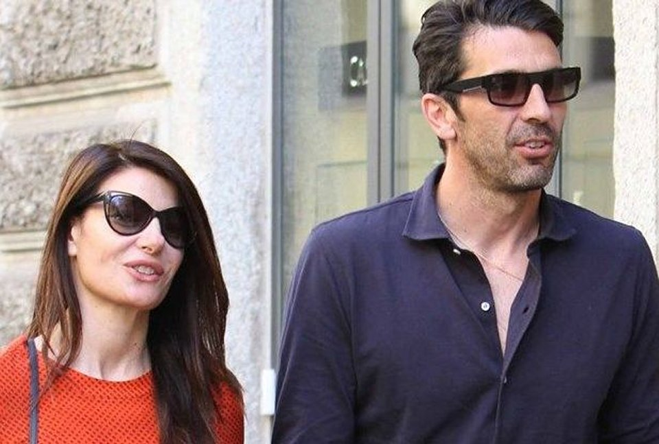 Ilaria D'Amico con Gigi Buffon non passiamo la vita avvinghiati