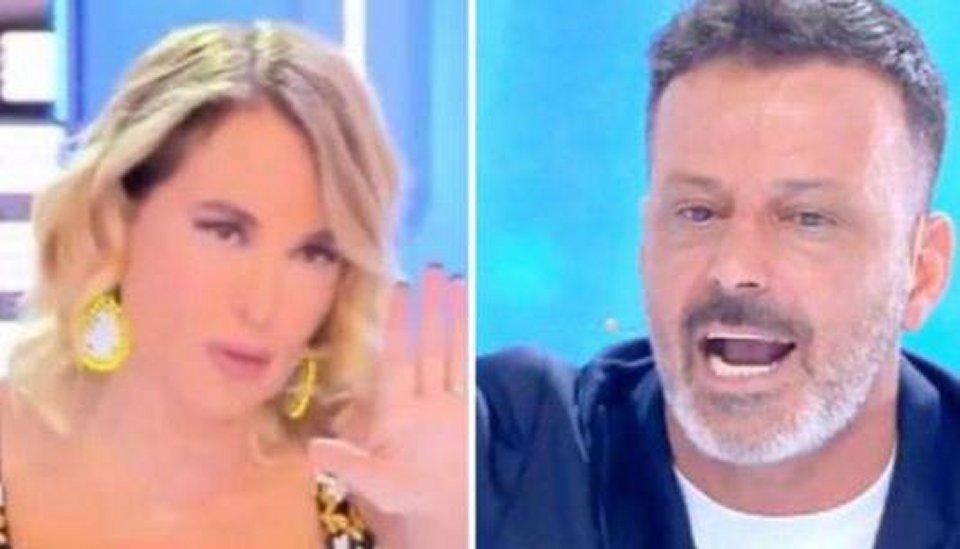 Kikò Nalli polemica in diretta tv con Barbara D'Urso
