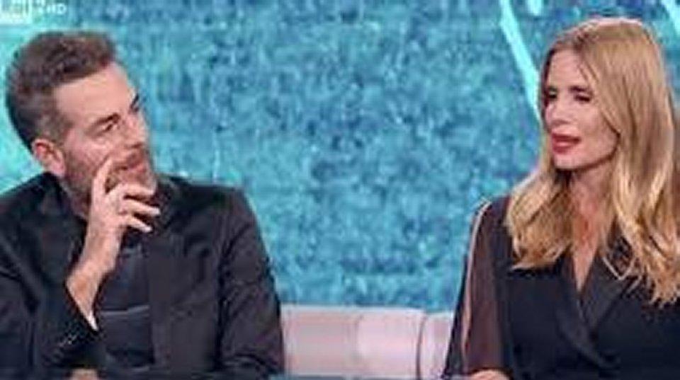 Filippa Lagerback in tv confida mi sono sentita in colpa con Daniele Bossari