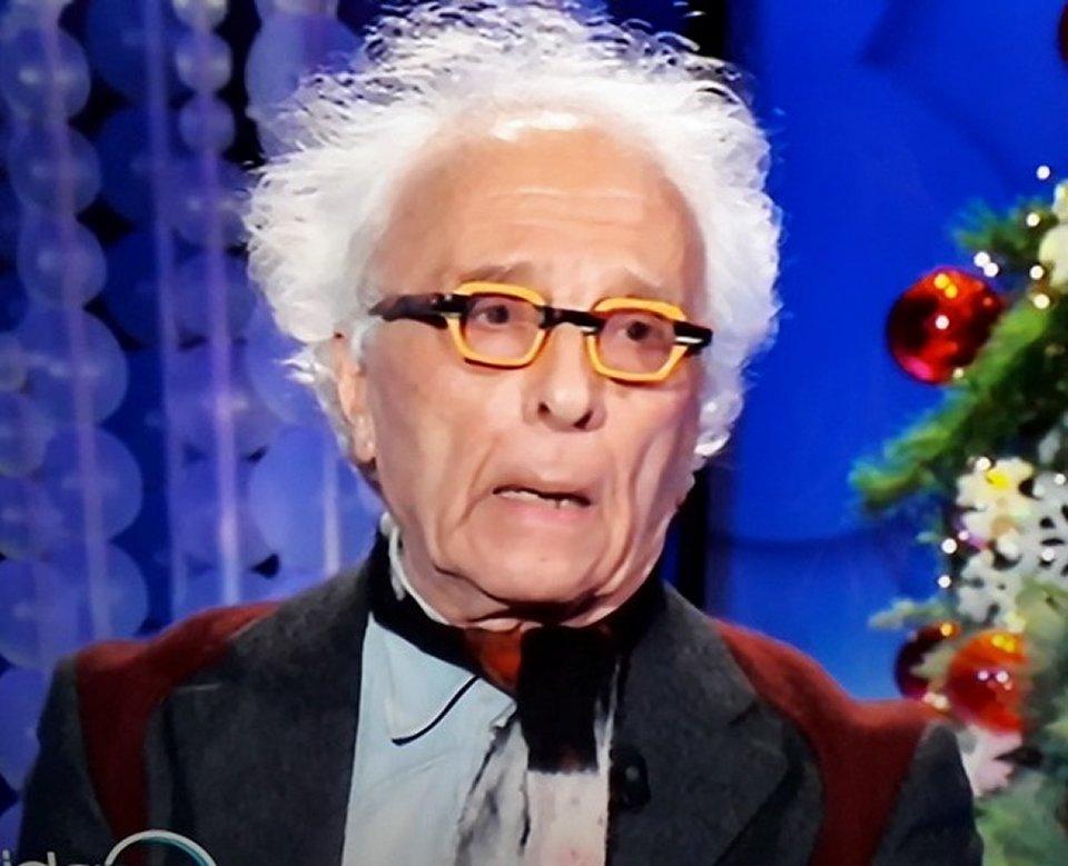 Vieni da me Giampiero Mughini scontro in tv con  Alba Parietti