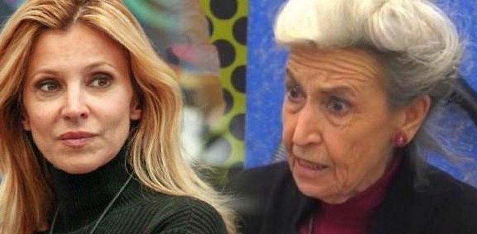 Gf Vip lite furibonda tra Adriana Volpe e Barbara Alberti