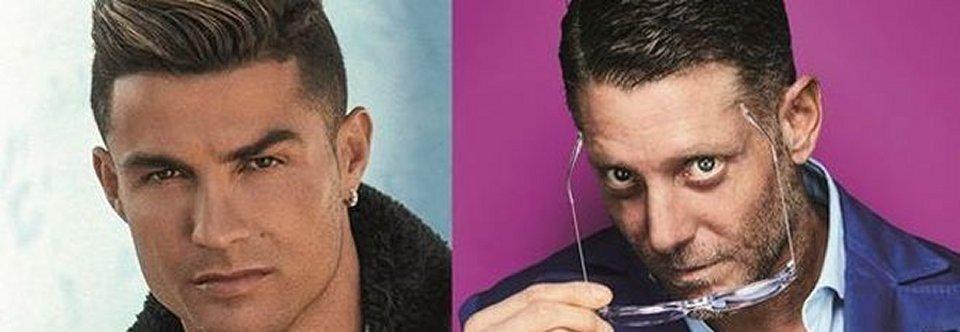 Cristiano Ronaldo e Lapo Elkann insieme per creare un nuovo modello di occhiali