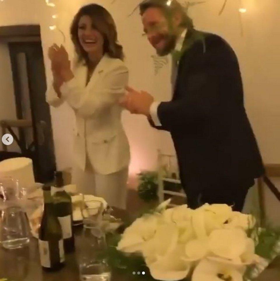 Samanta Togni e Mario Russo si sono sposati