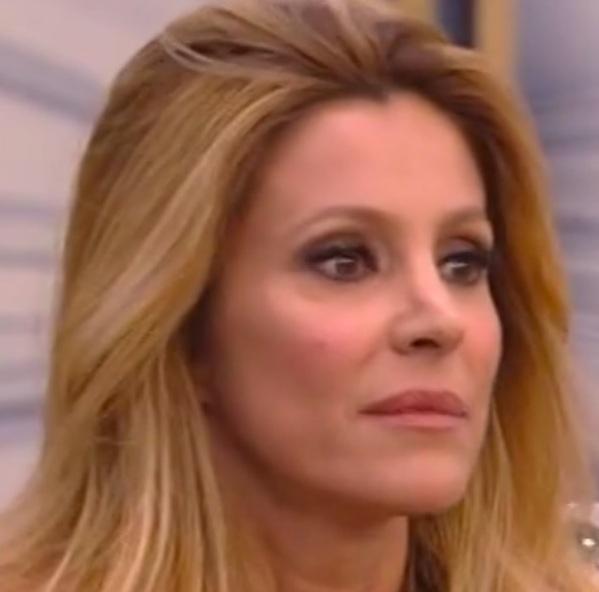 Adriana Volpe con Magalli nessuna pace e non mi ha fatto neanche le condoglianze