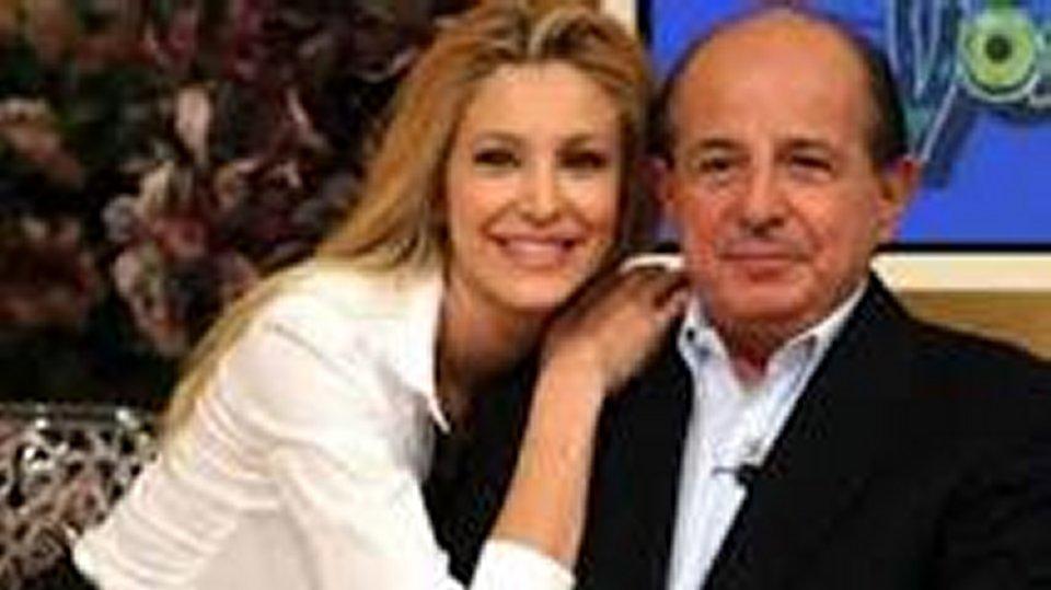 Giancarlo Magalli triste per il lutto di Adriana Volpe e vuole fare pace