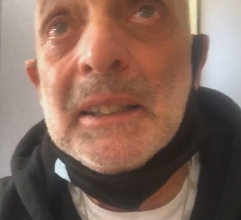 GF Vip Paolo Brosio in lacrime svela ho avuto in Coronavirus