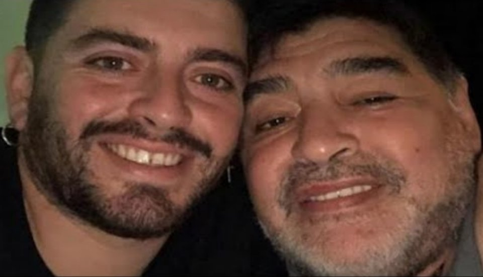 Diego Maradona Jr svela non posso accettare la morte di mio  padre