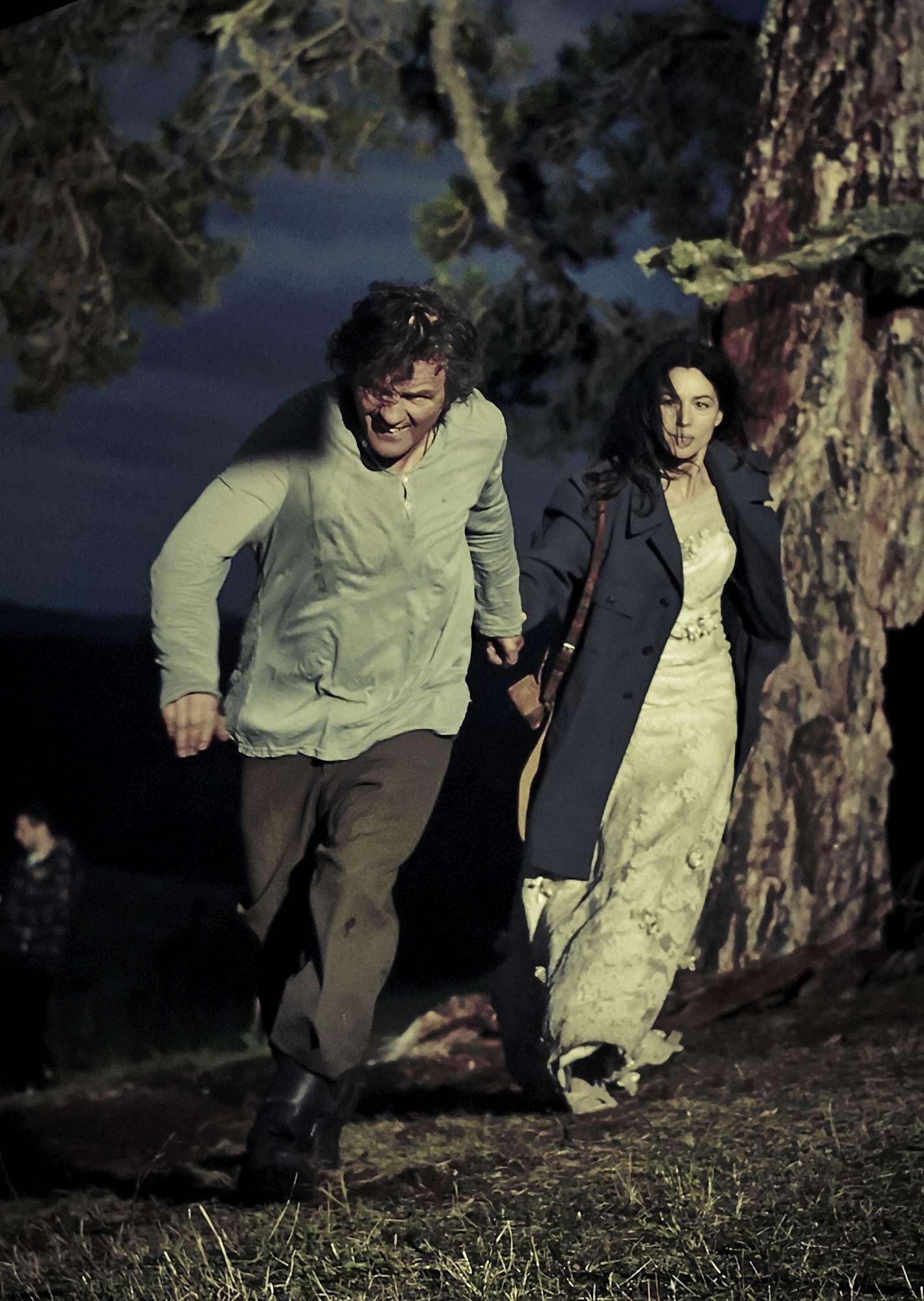 """Monica Bellucci in """"On the Milky Road"""" di Kusturica: """"Un film sull'amore che non ha età"""""""