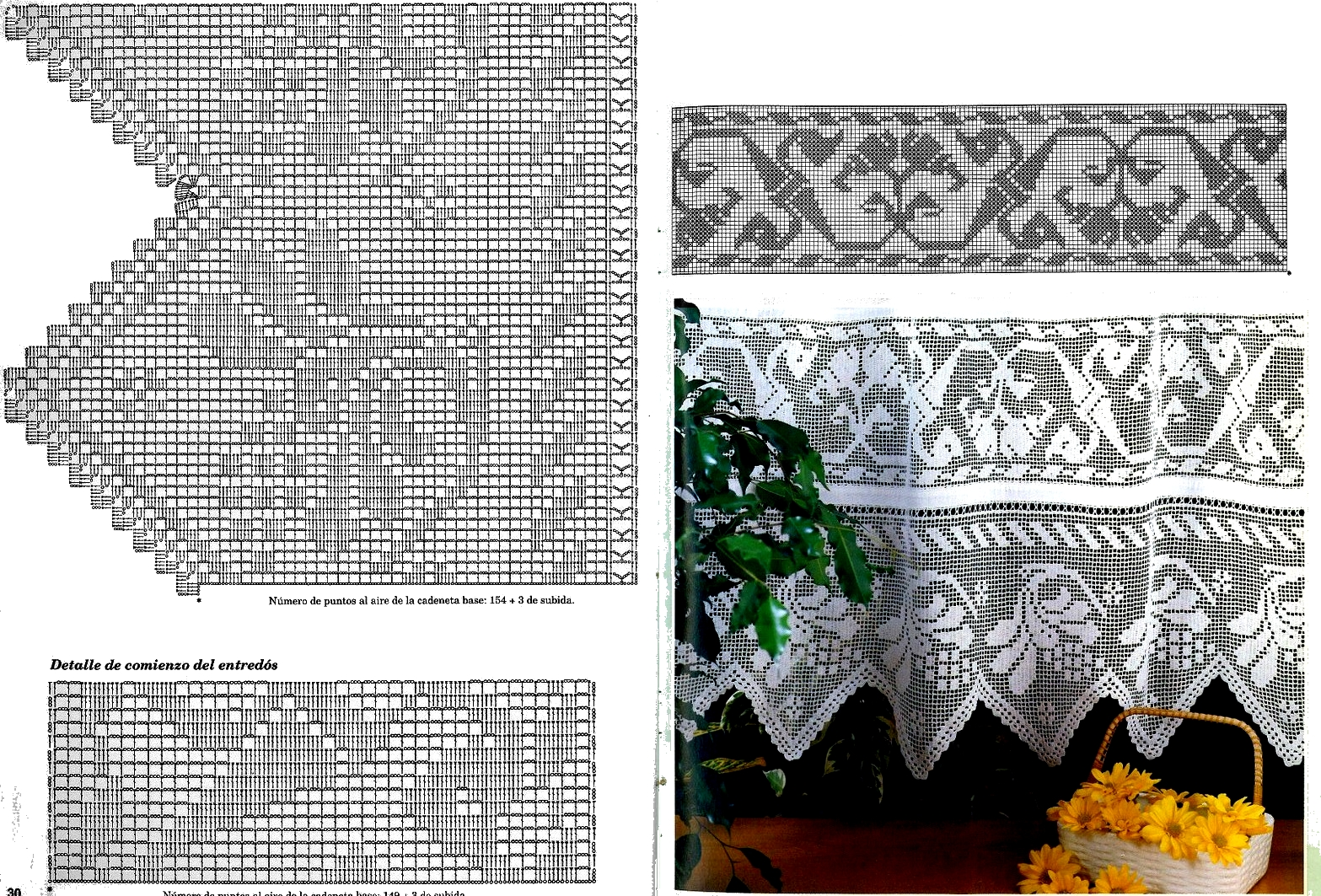 Bordi all 39 uncinetto crochet per ogni uso for Pizzi e merletti all uncinetto schemi