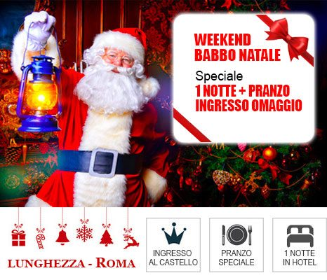 Hotel vicino al Castello di Babbo Natale Lunghezza Roma