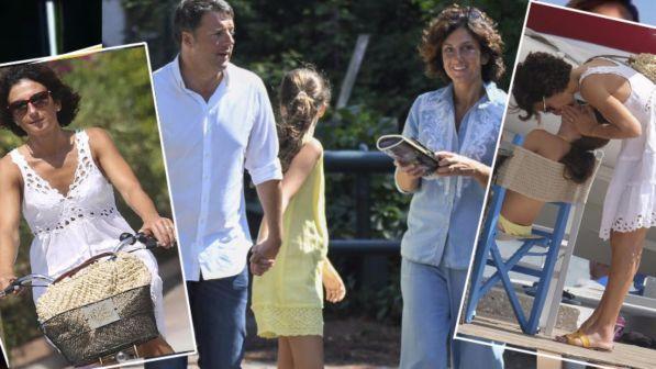 Matteo Renzi in vacanza a Forte dei Marmi con la famiglia